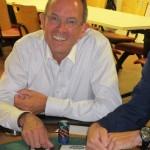 Un nouvel initié durant un séminaire poker casino à Lyon